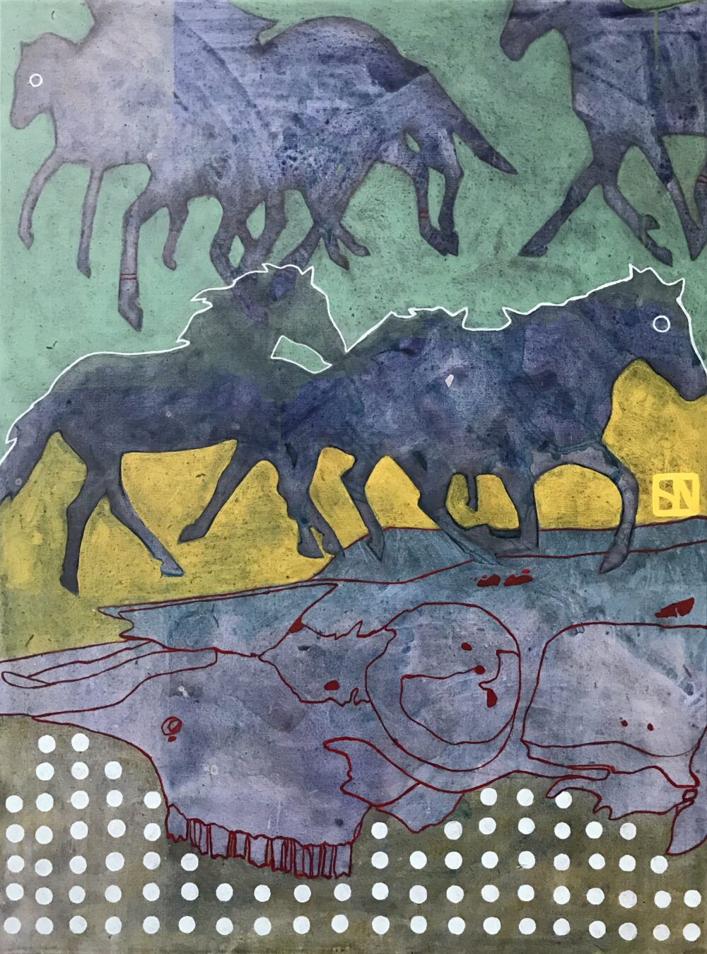Sarsten Noice - War Ponies