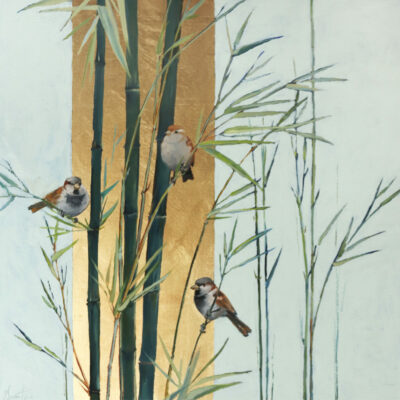 Ellen Granter - Sparrows in Bamboo