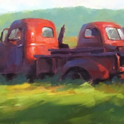 Joe Bolger - Red Trucks