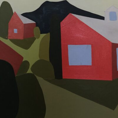 Sage Tucker-Ketchum - One Barn Two Shacks and Eleven Hedges with Mountain
