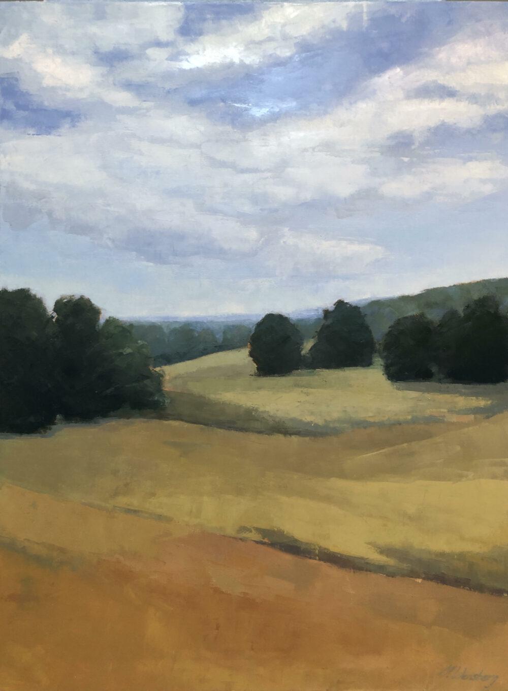 Molly Wensberg - Gold Swept Hills