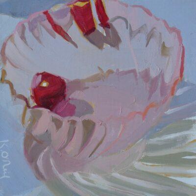 Karen O'Neil - Pink Glass and Cherries