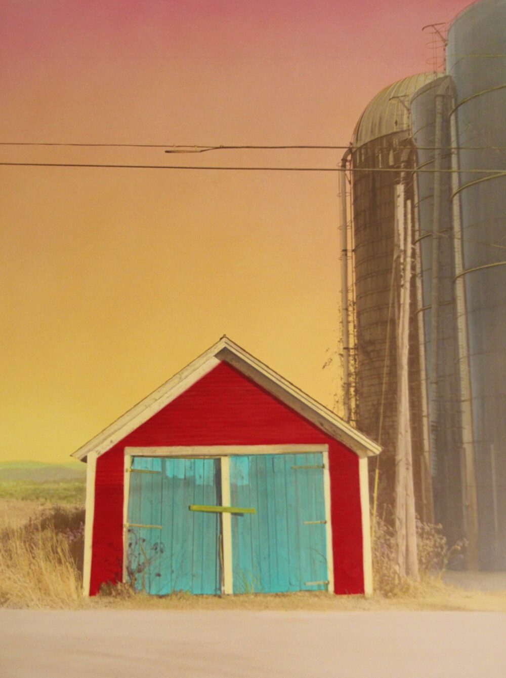 Victoria Blewer - Red Shed