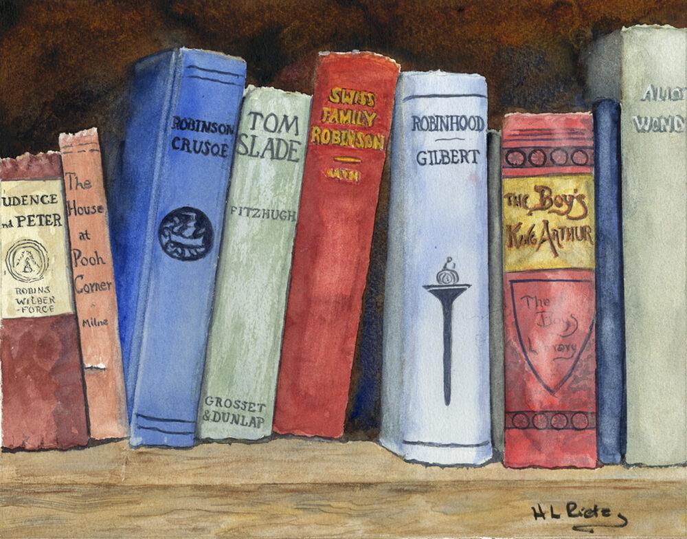 Helen Rietz - Children's Shelf