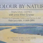 Colour by Nature - Paint Demo with Ellen Granter