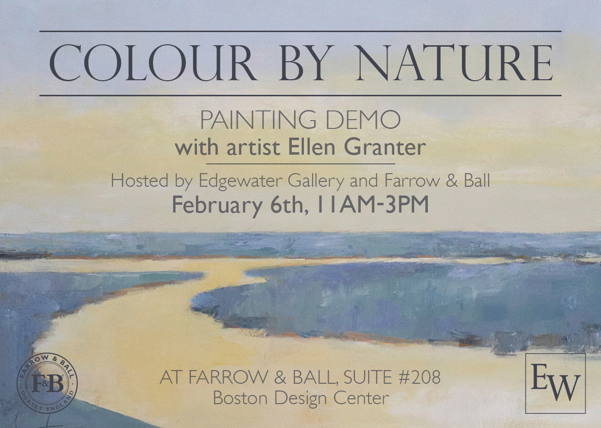 Colour by Nature - Paint Demo with Ellen Granter