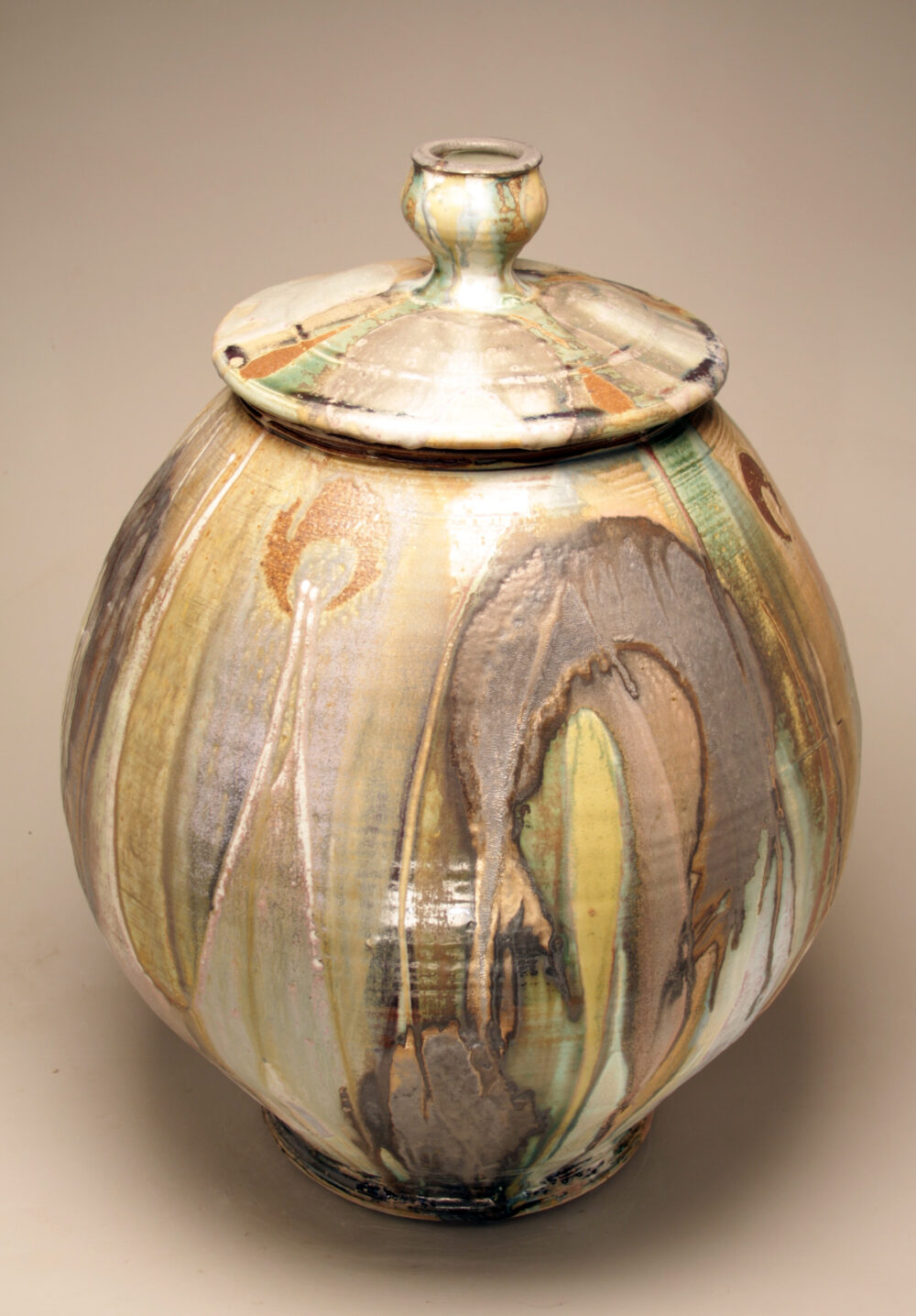 Josh DeWeese - Large Lidded Jar