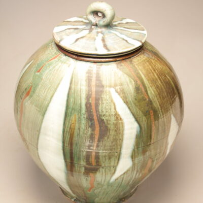 Josh DeWeese - Large Lidded Jar 2