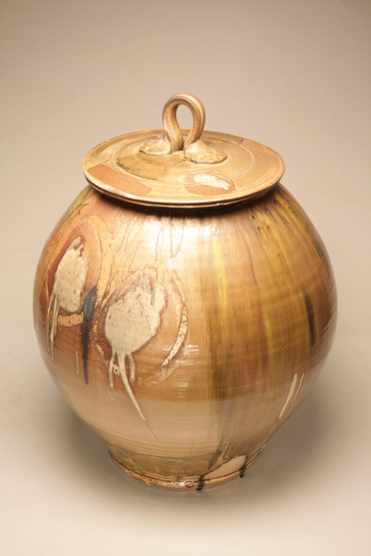 Josh DeWeese - Large Lidded Jar 3