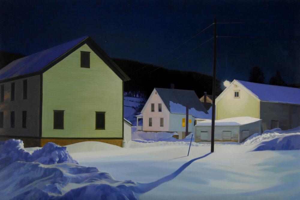 Kathleen Kolb - Star Light Barn, Light, Lamp Light, Headlights