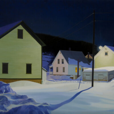 Kathleen Kolb - Star Light Barn, Light, Lamp Light, Headlights