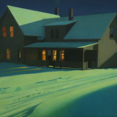 Kathleen Kolb - Winter Night Light