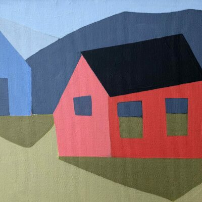 Sage Tucker-Ketcham - Red House, Blue Barn