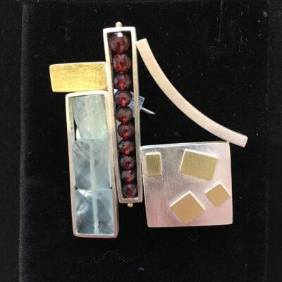 Ashka Dymel - Bauhaus Collage Pin 112