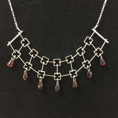 Ashka Dymel - Multi Square Necklace