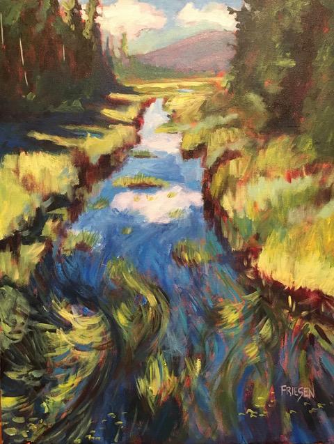 Holly Friesen - Summer Grasses Study