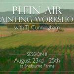 TJ Cunningham Pleain Air Workshop Event Page picture
