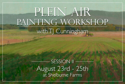 TJ Cunningham Pleain Air Workshop Event Page picture