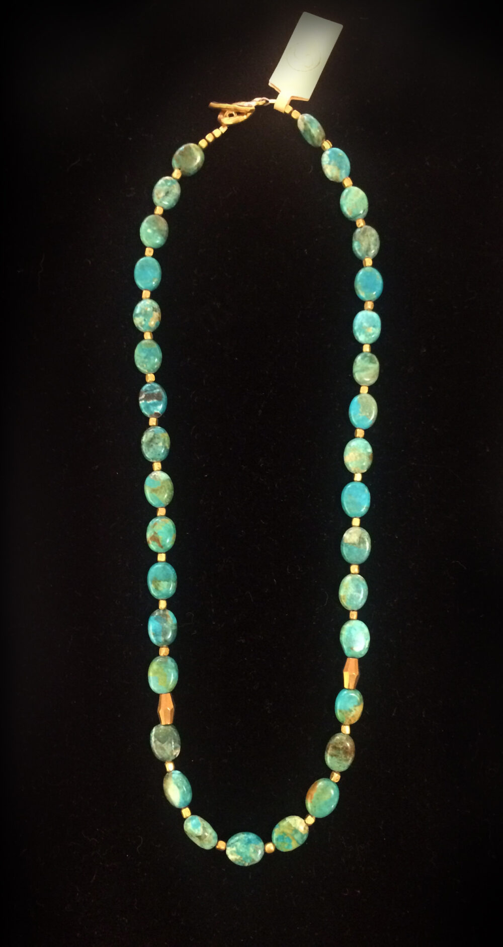 Saskia Devries - Turquois Impression necklace