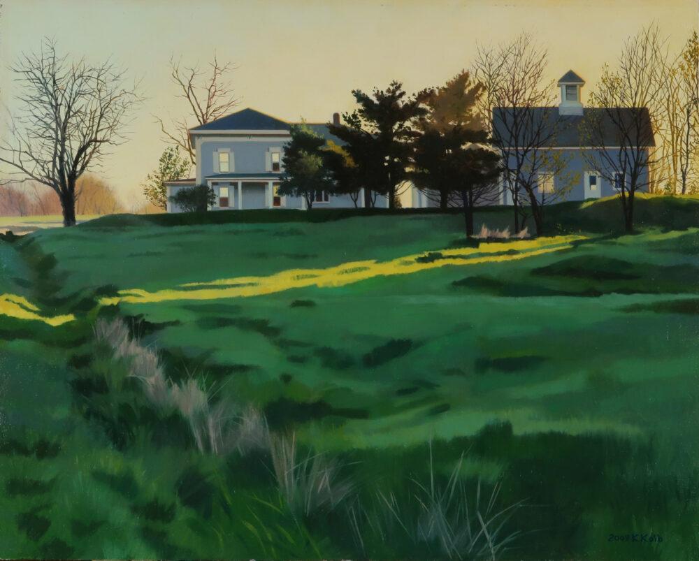 Kathleen Kolb - Slant Light, Spring
