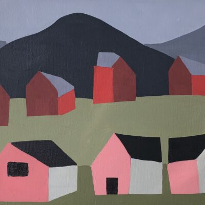 Sage Tucker-Ketcham - Four Barns and Three Houses