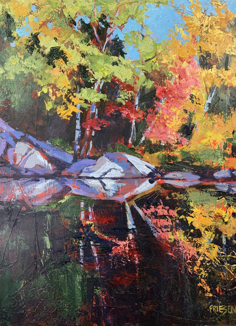 Holly Friesen - Autumn River