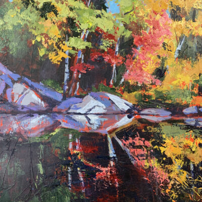 Holly Friesen - Autumn River