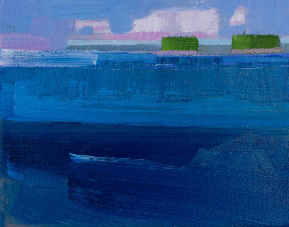 Philip Frey - Approaching Rain Deep Waters Study