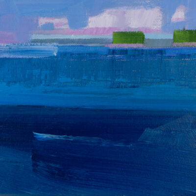 Philip Frey - Approaching Rain Deep Waters Study