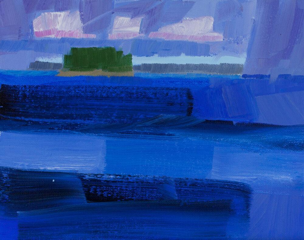 Philip Frey - Departing Rain Deep Waters Study