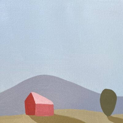 Sage Tucker-Ketcham - Red Pink Barn