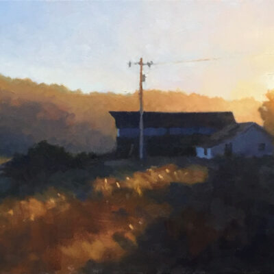 Tim Horn - Late Fall with Barn
