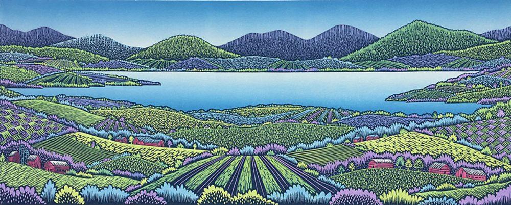 Daryl Storrs - Lake Champlain Vista