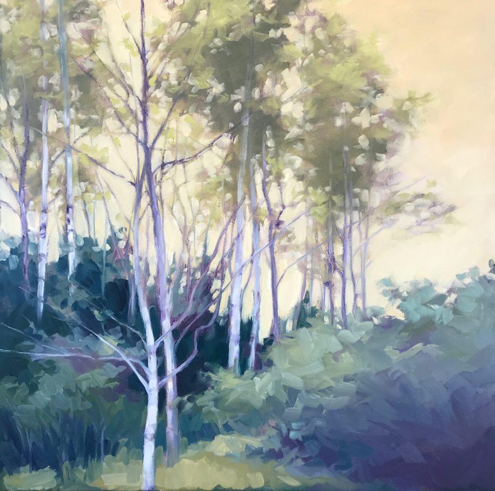 Margaret Gerding - Young Birches