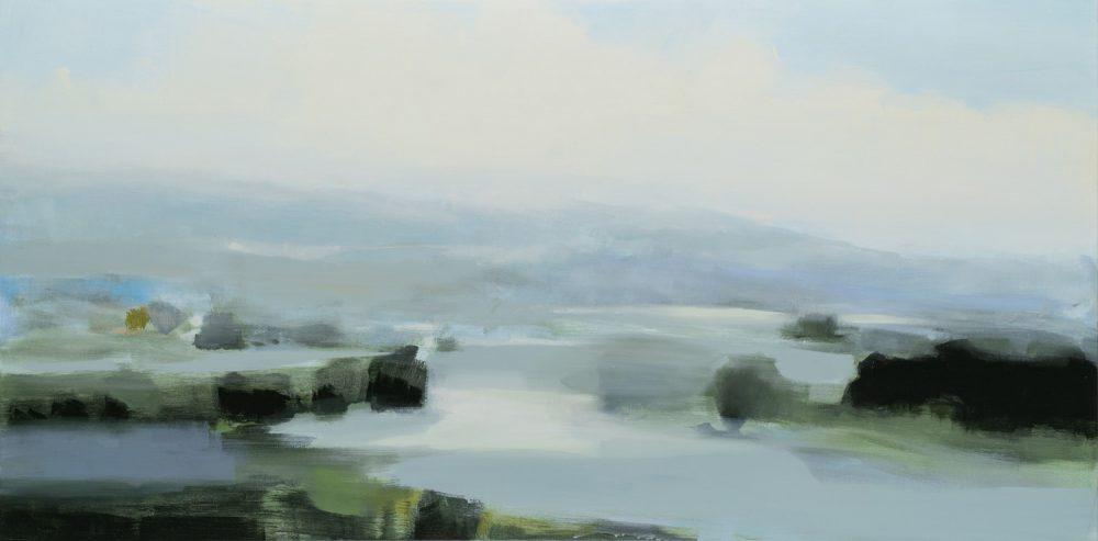 Hannah Bureau - Gray Green Horizon