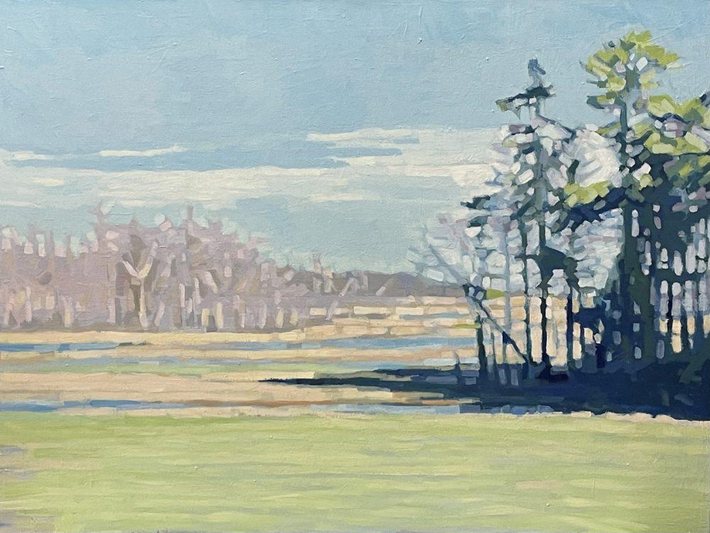 Liz Hoag - Spring on the Marsh