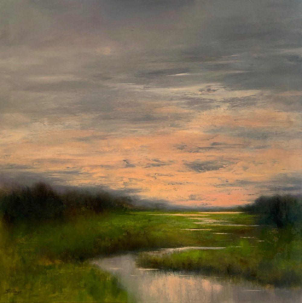 Penny Billings - Sundown on the Marsh
