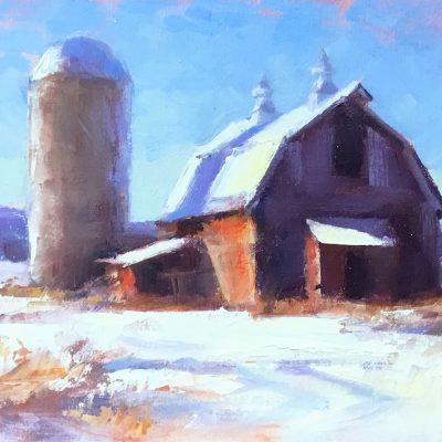 Joe Bolger - Winter Barn