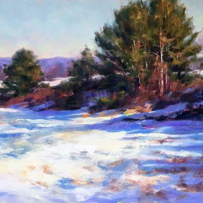 Joe Bolger - Winter Evergreens