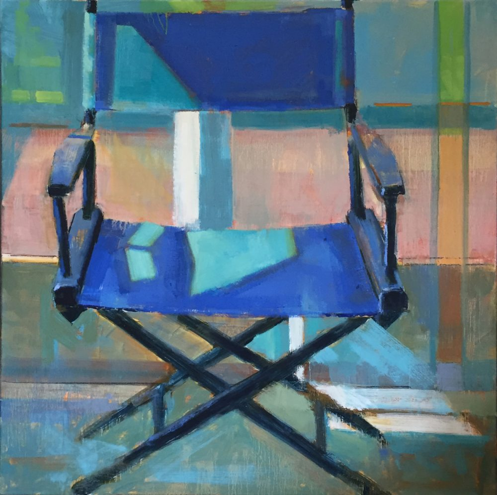 Kim Alemian - Director's Chair in Blue