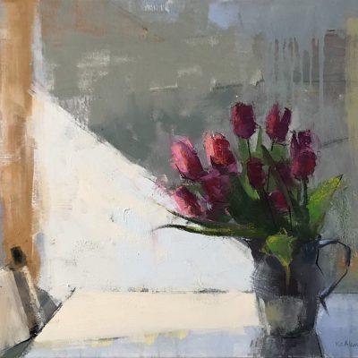 Kim Alemian - Light Shaft - Pitcher of Tulips