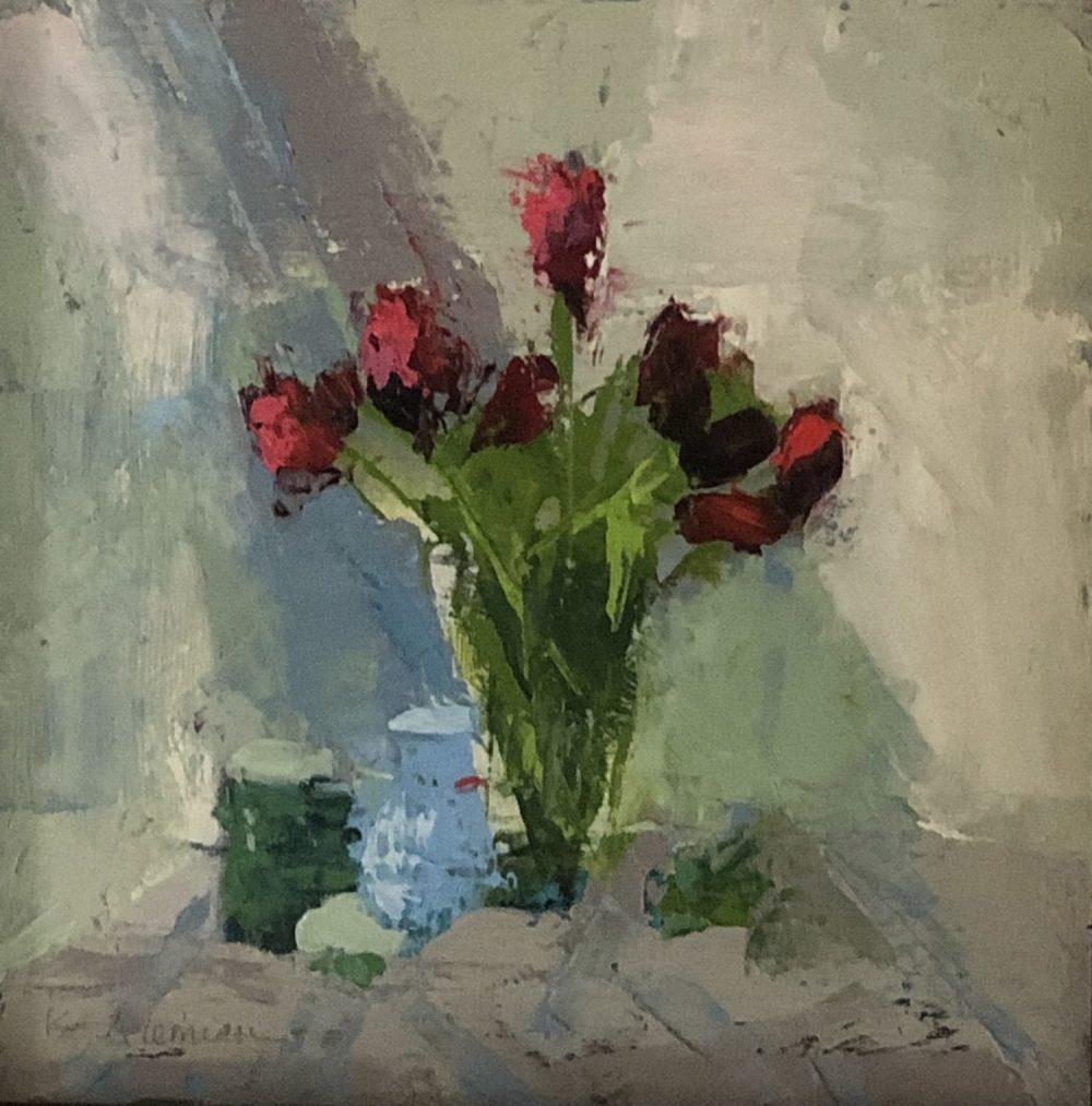 Kim Alemian - Red Tulip Study