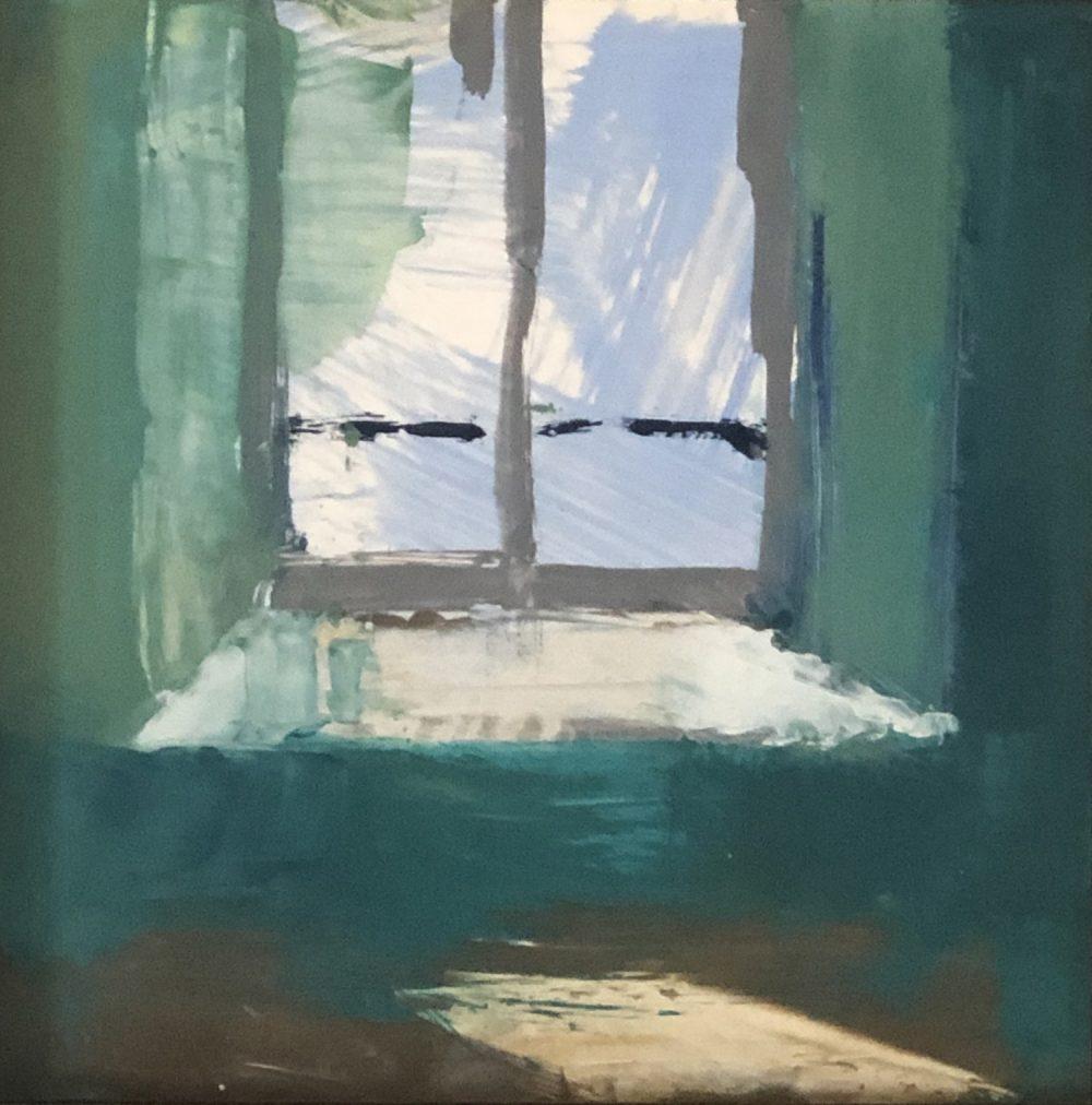 Kim Alemian - Window I Turquoise