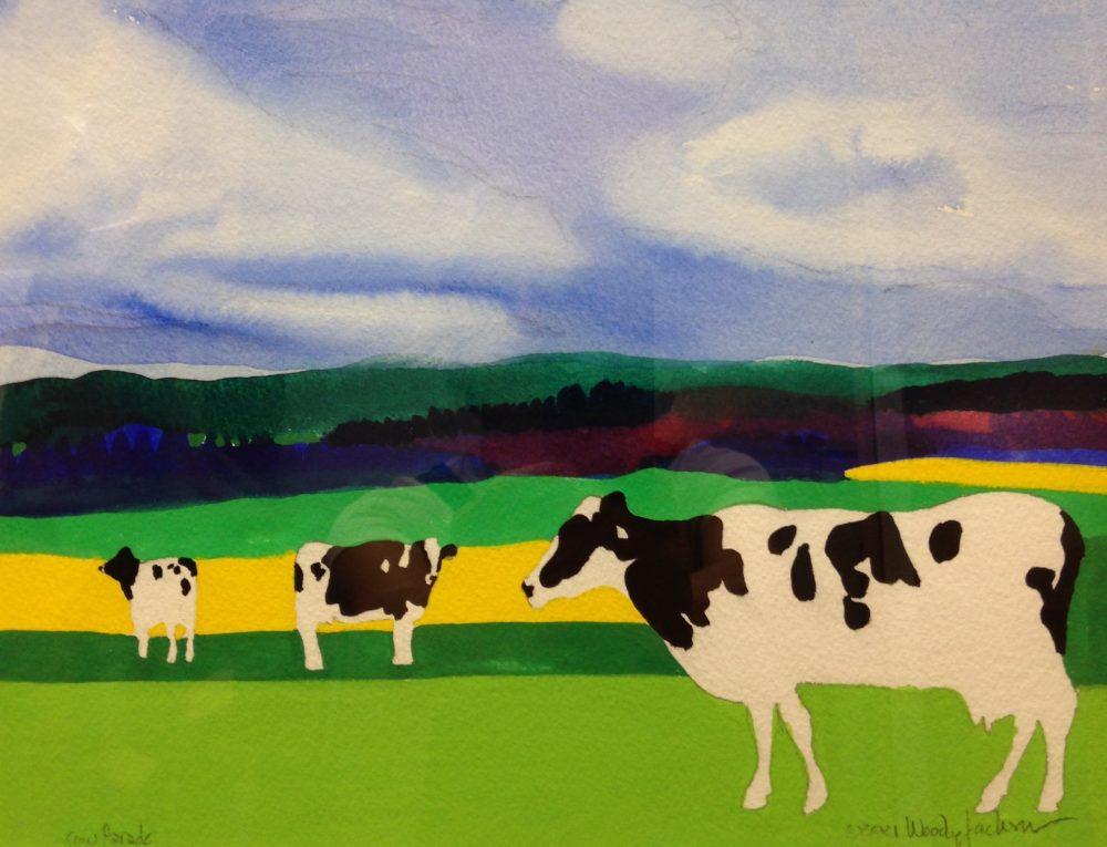 Woody Jackson - Cow Parade