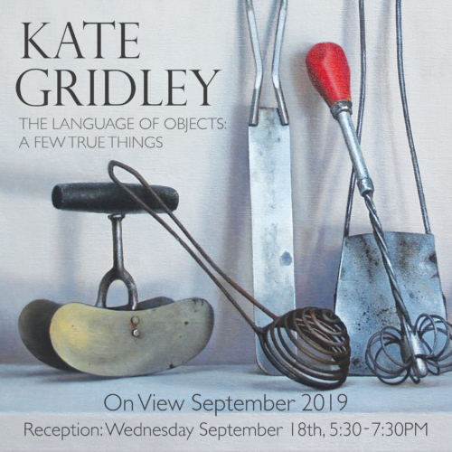 Kate Gridley - The Language of Objects